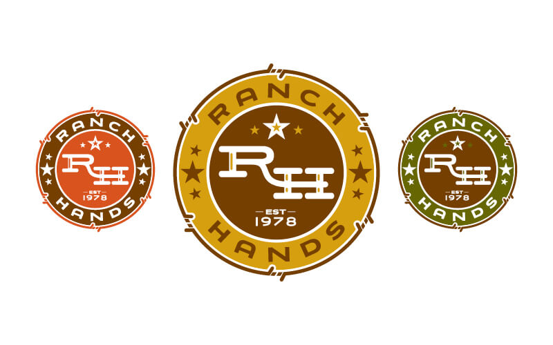 Ranch Hands Logos
