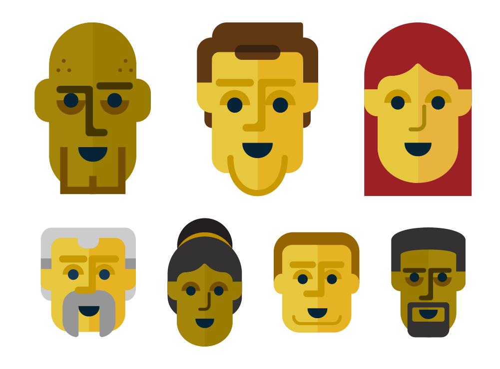 Bridgestone Character Graphics