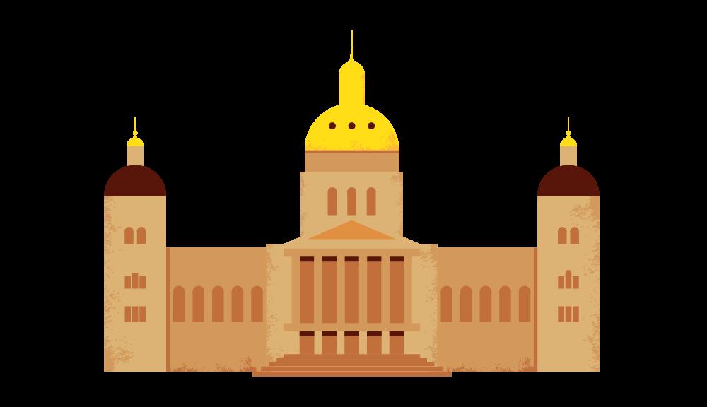 Des Moines Capital Illustration