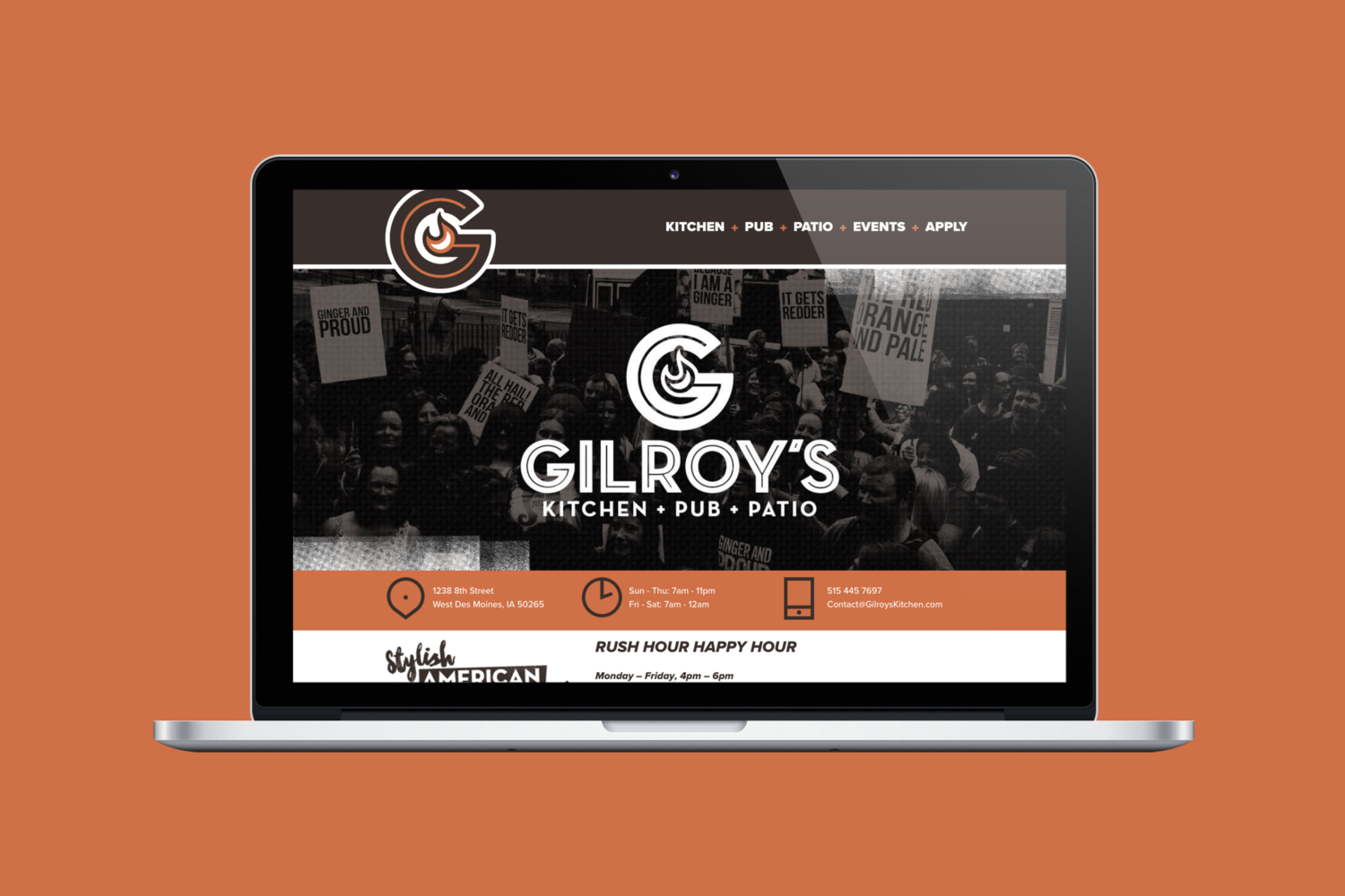 gilroys-website-mockup