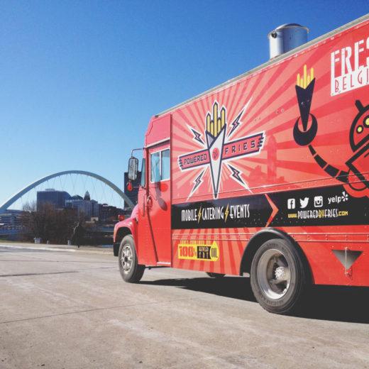 Creative Direction, Branding & Website Development for Iowa Food Truck