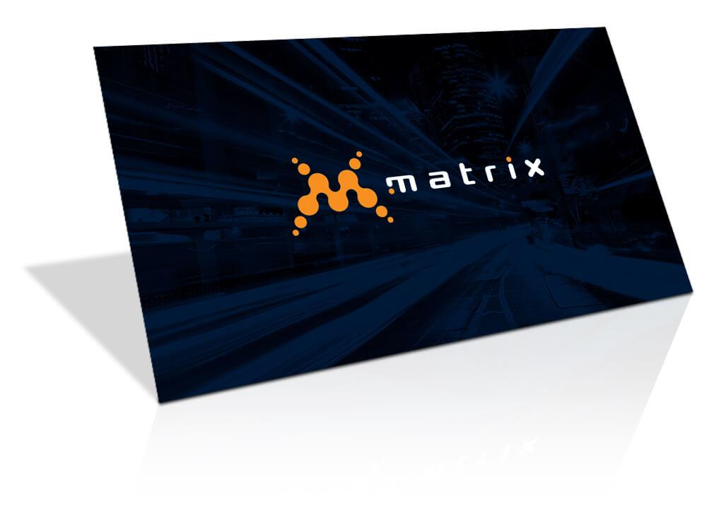 Matrix Promo Card