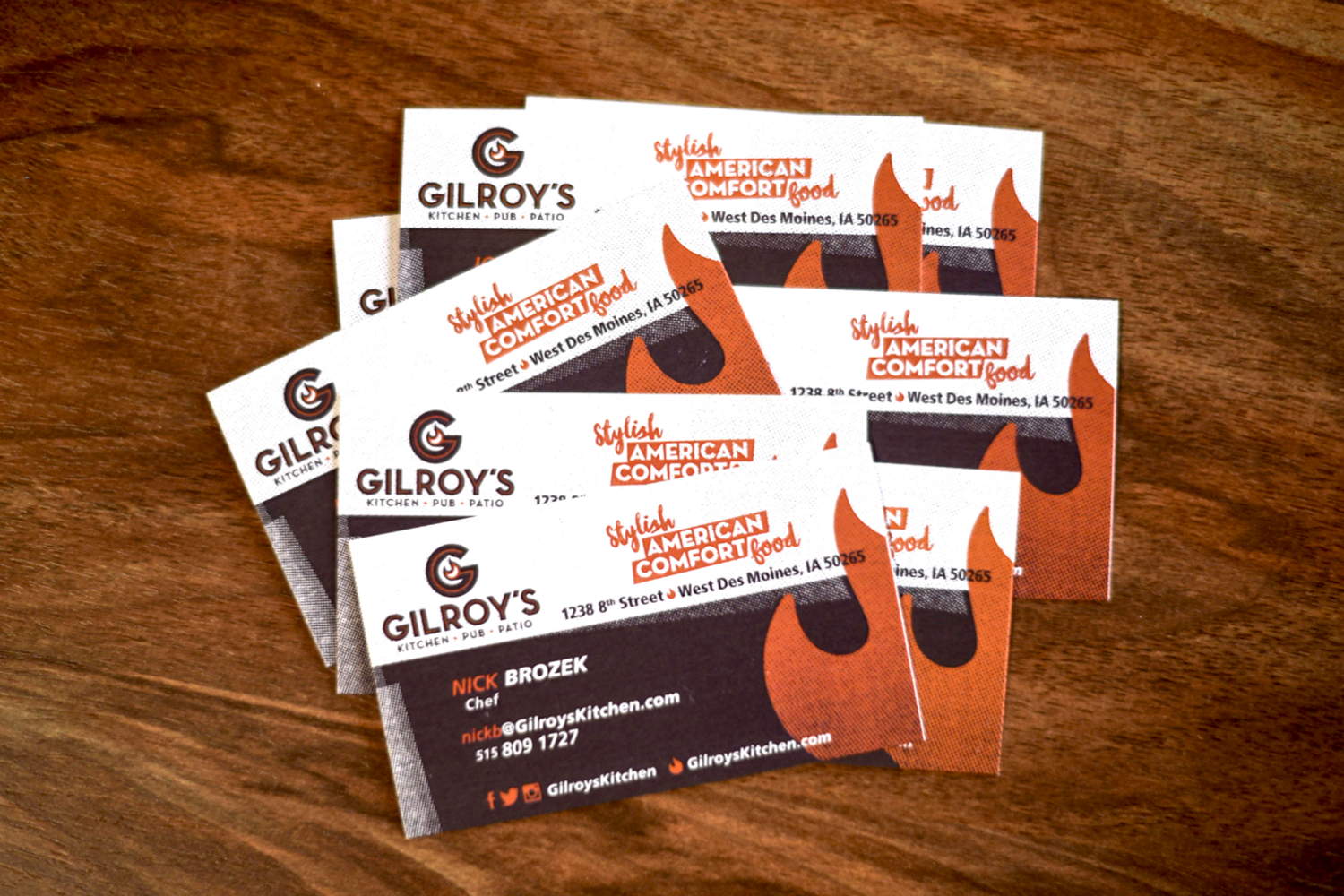 the name gilroys is gaelic for son of a redhead and its off center humor is used both in subtle and sometimes not so subtle ways throughout the brand