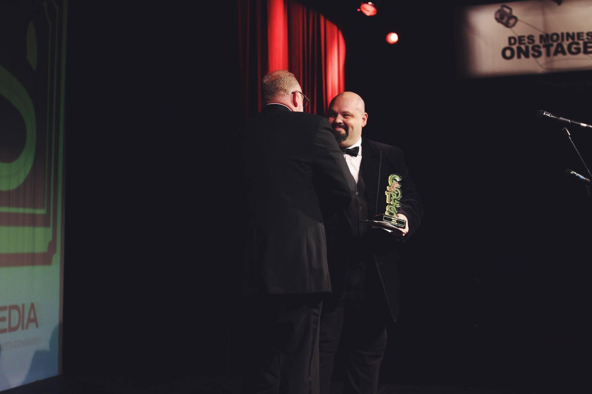 Farmboy Cloris Awards Statue Photo