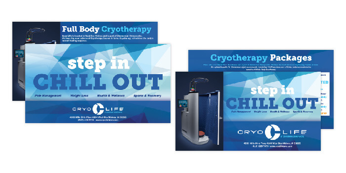 CryoLife Iowa Branding Promotional Handouts