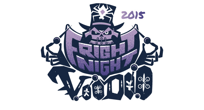 Fright Night 2015 Branding Logo