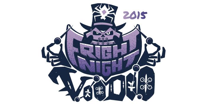 Fright Night 2015 Branding Logo
