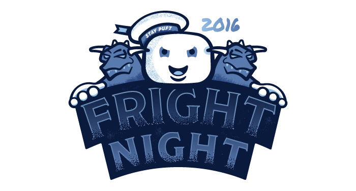 Fright Night 2016 Branding Logo